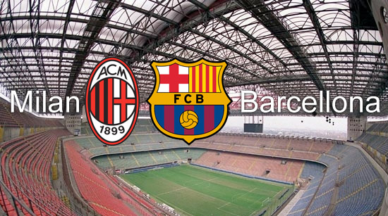 partite in tv milan barcellona