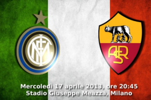 partite in tv oggi inter roma coppa italia