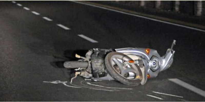 incidente scooter