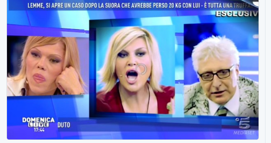 Replica Domenica Live su Video Mediaset: Streaming Puntata (27 novembre 2016)