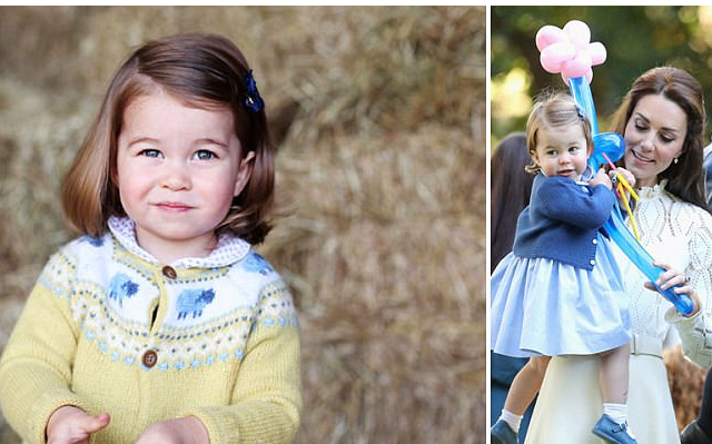 #Charlotte Compie 2 Anni, #William e #Kate,