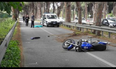 ostiense, 26enne muore in un incidente in moto