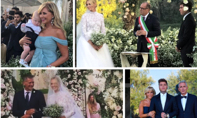 Matrimonio Ferragnez In Diretta : The ferragnez wedding dal piccolo leone a fedez in