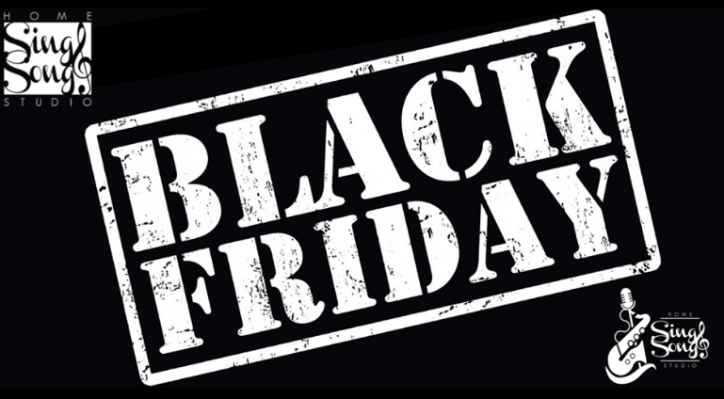 Black Friday anche per la musica con Sing&Song Home Studio