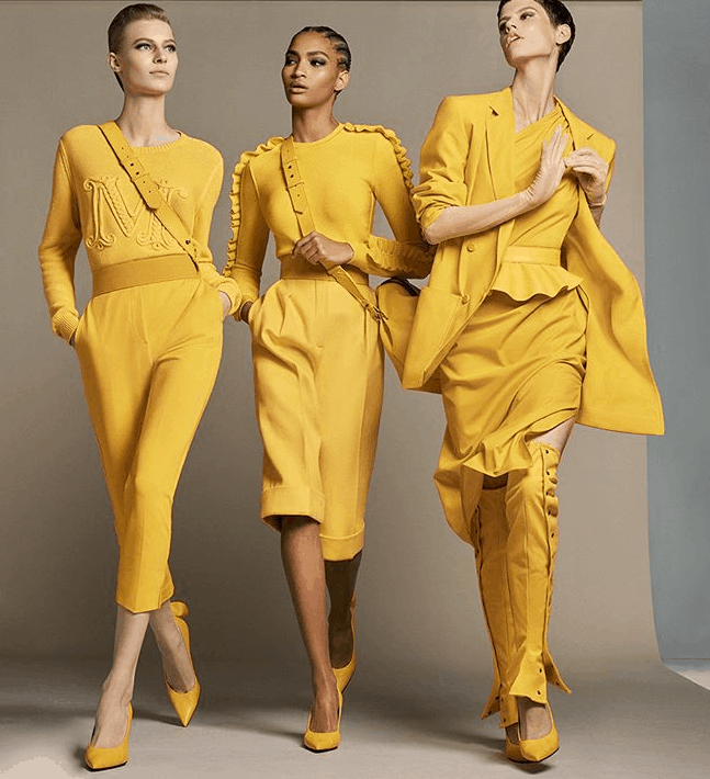 MODA PRIMAVERA ESTATE 2019 GIALLO